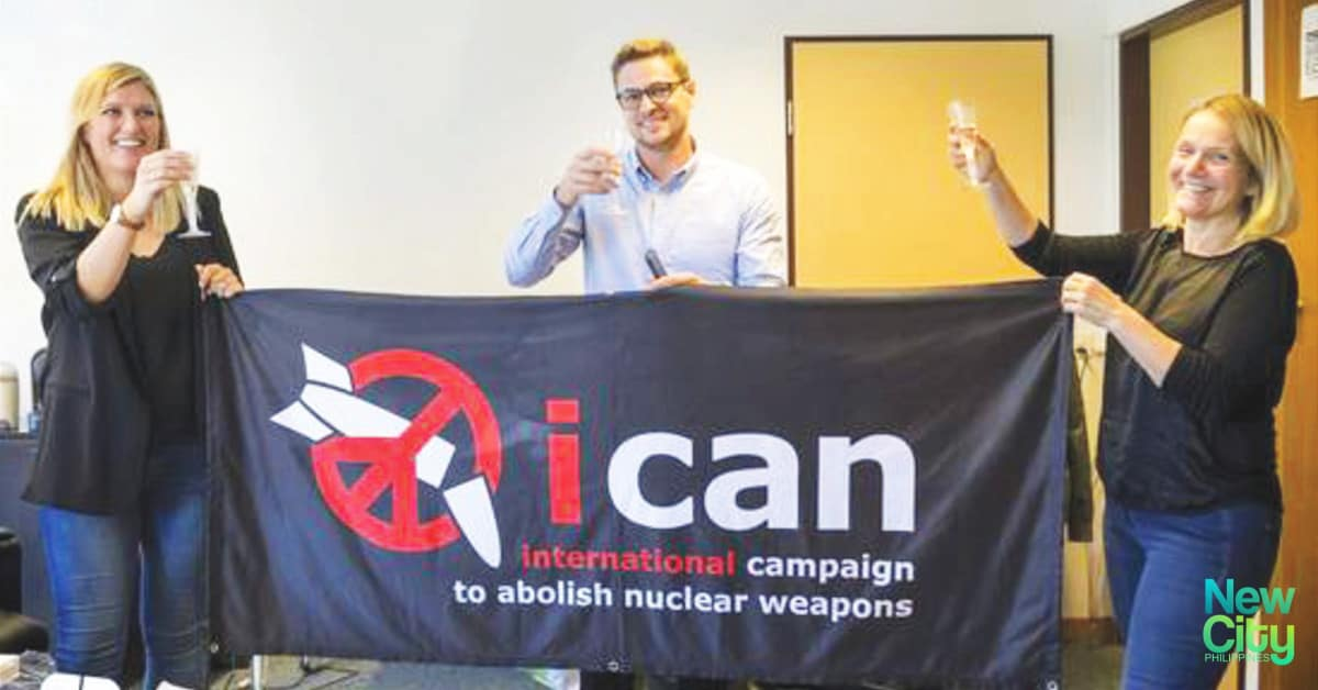 ICAN (International Campaign to Abolish Nuclear Weapons)