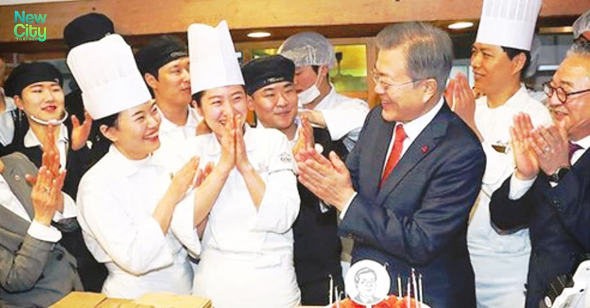 A Special Guest of Sung Sim Dam