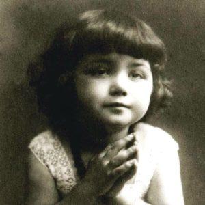 Chiara Lubich as a child