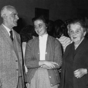 Chiara Lubich with her parents Luigi and Luigia