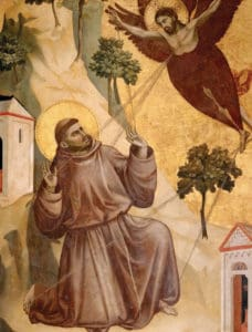 A model for a new economy? On the 50th anniversary of the proclamation of St. Francis of Assisi as patron saint of ecology, Pope Francis convenes an economic think tank. (Painting by Giotto in Louvre, Paris)