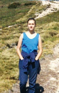 Chiara Luce loved to go hiking in the mountains.