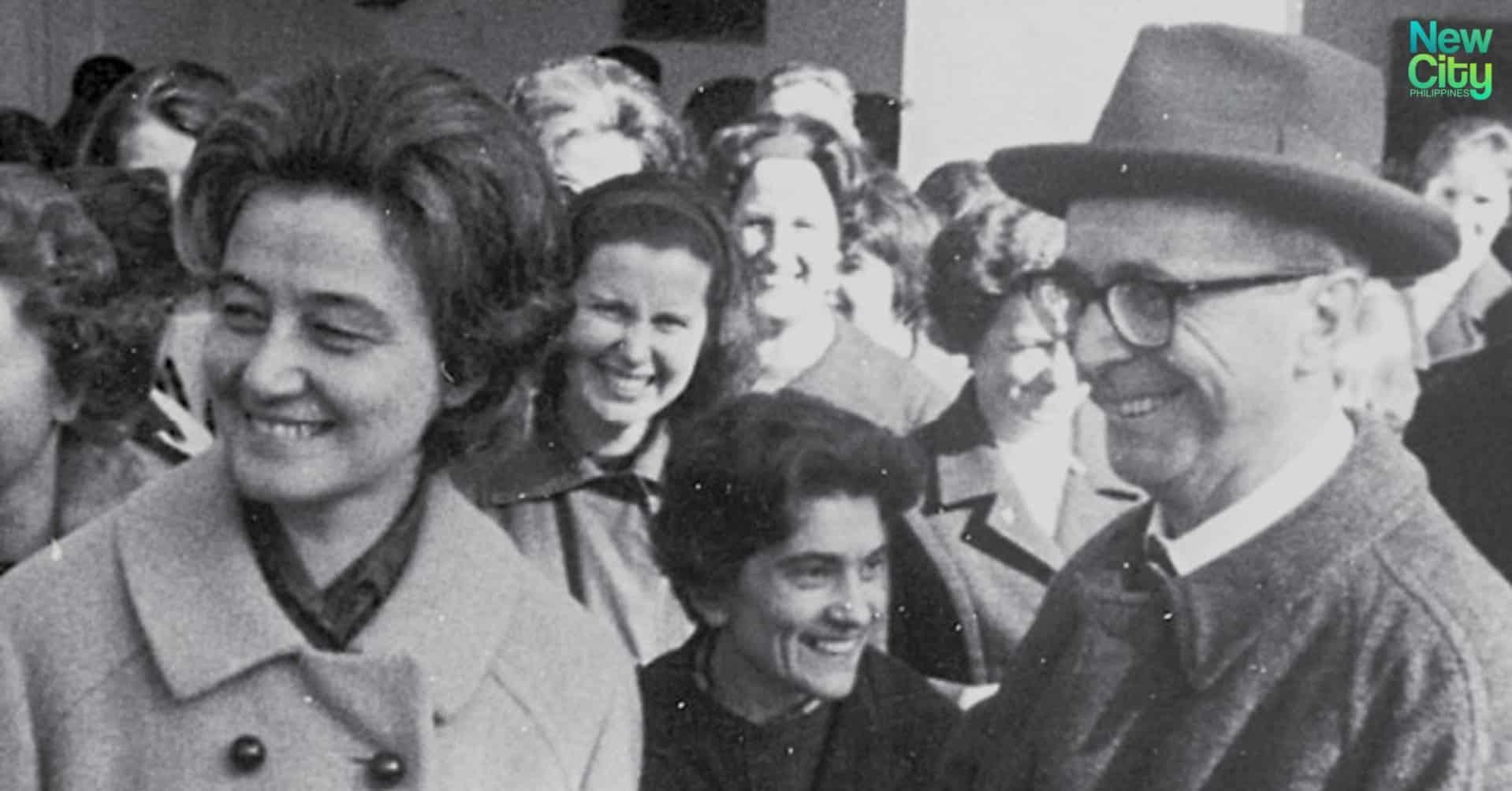 Chiara and Igino Giordani in the 1960s.